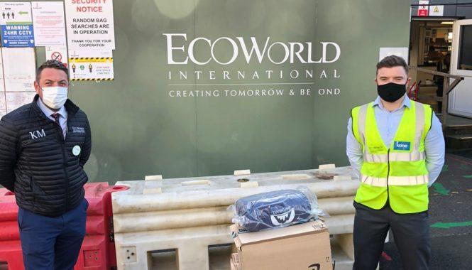 The Open Kitchen Sleeping Bag Donation Eco World Kew Bridge Cathal Bonham December 2020